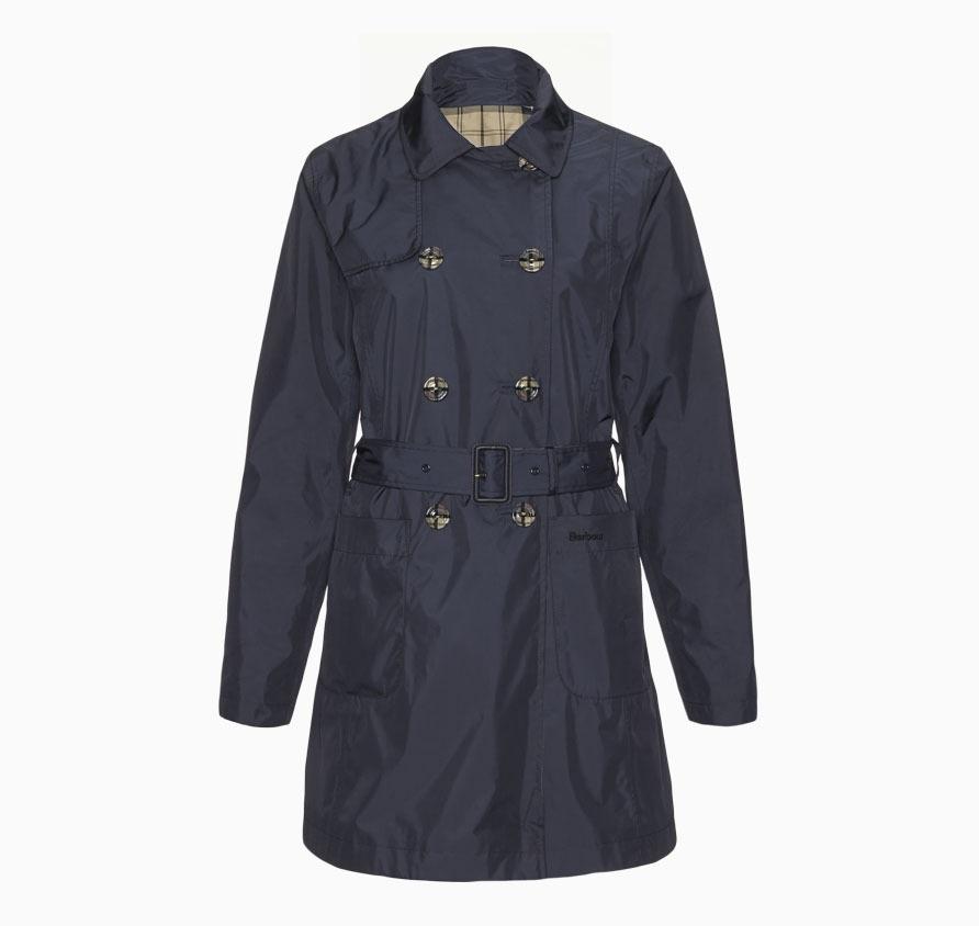 Barbour Cedar Trench Coat